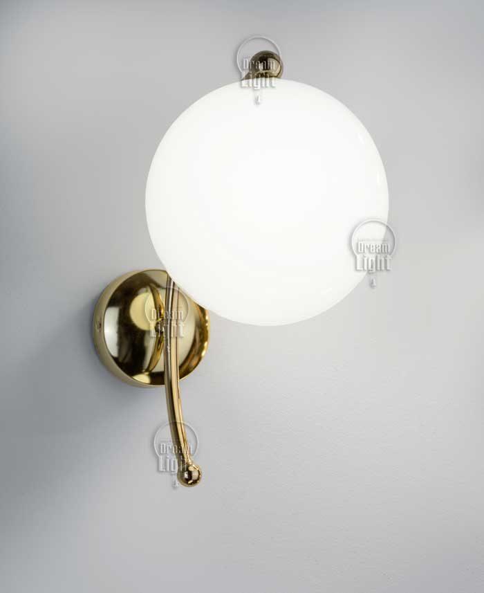 מנורת קיר רקפת פליז